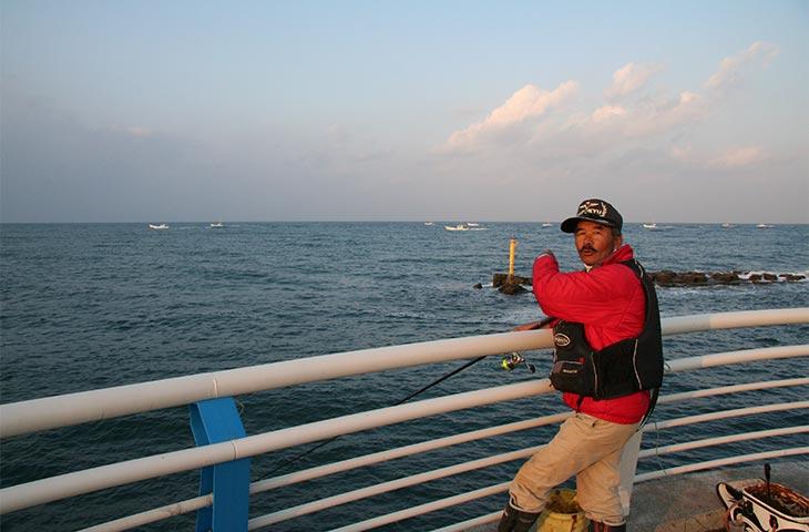 江口浜ヘッドランド